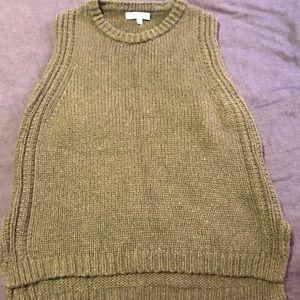 Woman's Madewell sleeveless sweater Size Small
